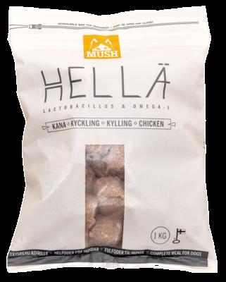 MUSH Hellä Kana 1kg / 6kg