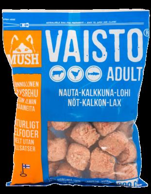 MUSH Vaisto Sininen Nauta-Kalkkuna-Lohi 800g / 6,4kg