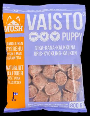 MUSH Vaisto Vaaleanliila Sika-Kalkkuna-Kana 800g / 6,4kg
