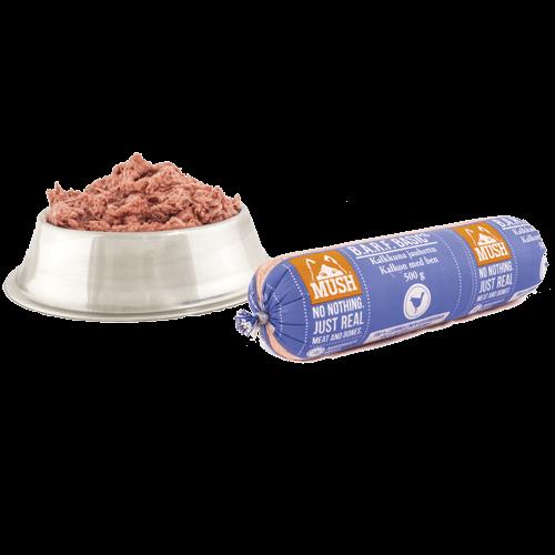 MUSH B.A.R.F. Basic Kalkkuna jauhettu 500g / 9kg