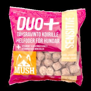 MUSH DUO+ SENSITIVE Kana-Kalkkuna 3kg / 9kg