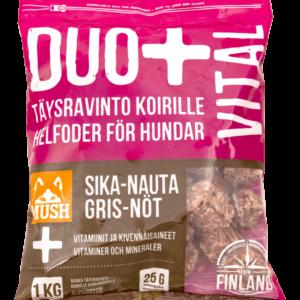 MUSH DUO+ VITAL Kana-Kalkkuna 1kg / 6kg